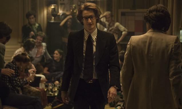 Pierre Niney as Yves Saint Laurent in the film of the same name.