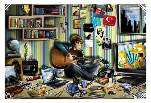 Messy-Teenage-Boy-Bedroom